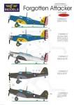 1-72-Northrop-A-17Forgotten-Attacker-5-decals-options