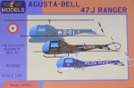 1-48-Agusta-Bell-47J-Ranger-3x-Italian-camo