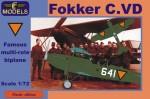 1-72-Fokker-C-VD-Holland-1940-4x-camo