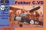 1-72-Fokker-C-VD-Sweden-Bristol-Jupiter-engine