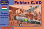 1-72-Fokker-C-VD-Hungary-Bristol-Jupiter-engine