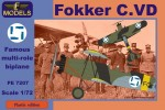 1-72-Fokker-C-VD-Finland-A-W-Sidelley-Panther-engine