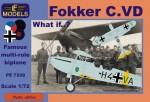 1-72-Fokker-C-VD-What-if-Luftwaffe-Czech-UK-Spanish-civil-war