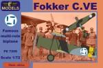 1-72-Fokker-C-VE-Finland-Bristol-Mercury-engine