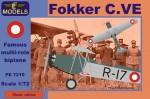 1-72-Fokker-C-VE-Denmark-Bristol-Jupiter-engine