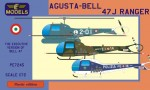 1-72-Agusta-Bell-47J-Ranger-3x-Italian-camo