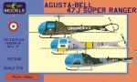 1-72-Agusta-Bell-47J-Super-Ranger-3x-Ital-camo
