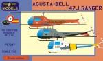 1-72-Agusta-Bell-47J-Ranger-France-UK-Spain