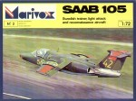 1-72-Saab-105-Demonstrator-and-SK-60A-B-C-D-versions-Decals-for-9-aircraft