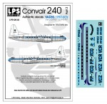 1-126-VARIG-Convair-240-delivery-colors-for-the-Testers-kits