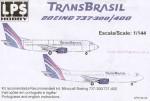 1-144-Boeing-737-300-400-TRANS-BRASIL-PT-TEF-TDE-Current