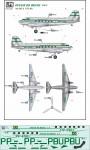1-72-Panair-Do-Brasil-Douglas-DC-3-delivery-colors