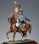 54mm-Standard-bearer-of-9e-regt-hussar-1809