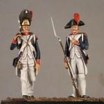 54mm-Infanterie-publicaine-1793-1796-1-Grenadier-and-1-Fusillier