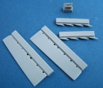 1-72-Mirage-2000-control-surfaces-for-kit-Heller