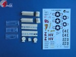 1-72-P-47-PLUS-upgrade-set-vacu-canopies-seat-auxiliary-tanks-Bazooka-wheels-+-decal-sets