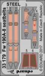 1-32-Fw-190A-8-seatbelts-STEEL