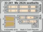 1-32-Me-262A-seatbelts-STEEL