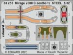 1-32-Mirage-2000-C-seatbelts-STEEL