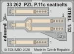 1-32-PZL-P-11c-seatbelts-STEEL