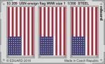 1-350-USN-ensign-flag-WWII-size-1-STEEL