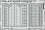 1-72-Super-Mystere-B-2-landing-flaps