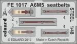 1-48-A6M5-seatbelts-STEEL
