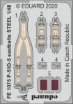 1-48-P-51D-5-seatbelts-STEEL