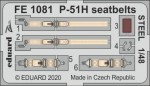 1-48-P-51H-seatbelts-STEEL