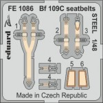 1-48-Bf-109C-seatbelts-STEEL