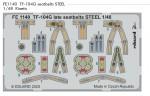 1-48-TF-104G-seatbelts-late-STEEL-KIN