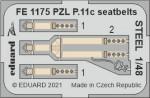1-48-PZL-P-11c-seatbelts-STEEL