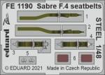 1-48-Sabre-F-4-seatbelts-STEEL