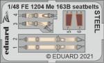 1-48-Me-163B-seatbelts-STEEL