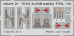1-48-Su-27UB-seatbelts-STEEL