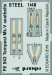 1-48-Tempest-Mk-V-seatbelts-STEEL
