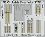 1-48-Rafale-C-seatbelts-STEEL