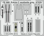 1-48-Rafale-C-seatbelts-grey-STEEL