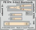 1-48-Il-2m3-Stormovik-seatbelts-STEEL