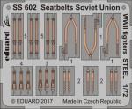1-72-Seatbelts-Soviet-Union-WW2-fighters-STEEL