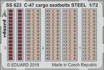 1-72-C-47-cargo-seatbelts-STEEL