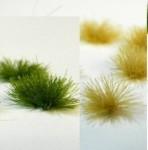 MINI-RARE-1-72-Trsy-travy-mix-barev-100-ks-Tufts-of-grass-color-mix-100-pcs-15-3mm
