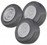 1-72-McDonnell-Douglas-F-A-18C-Hornet-Resin-replacement-wheel-set-3-pieces