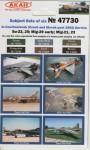 Letadla-Ceskoslovensko-po-roce-1992-Ceska-a-Slovenska-republika-SU-22SU-25MIG-21MIG-23MIG-29-Early