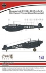 1-48-Messerschmitt-Bf-110D-0-Dackelbauch-Lippe-Wiessenfeld