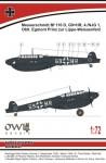 1-72-Messerschmitt-Bf-110D-0-Dackelbauch-Lippe-Wiessenfeld