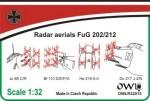 1-32-Radar-aerials-FuG-202-basic-set-for-Junkers-Ju-88C-R