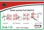 1-32-Radar-aerials-FuG-202-basic-set-for-Junkers-Ju-88C-R