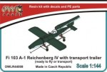 1-144-Fieseler-Fi-103-V-1-Reichenberg-IV-with-transport-trailer