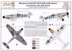 1-48-Messerschmitt-Bf-106-G-6-N-Naxos-conversion-set-with-decals